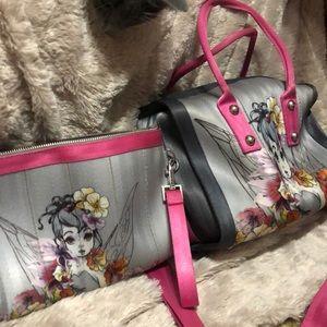 Harveys Disney Couture Tinkerbell Clutch & Purse